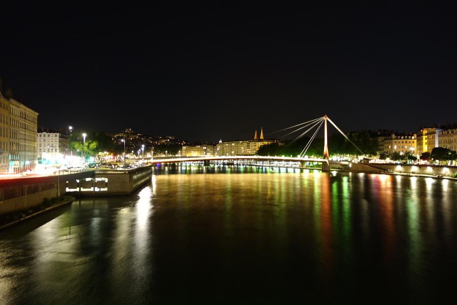 Abendstimmung in Lyon.