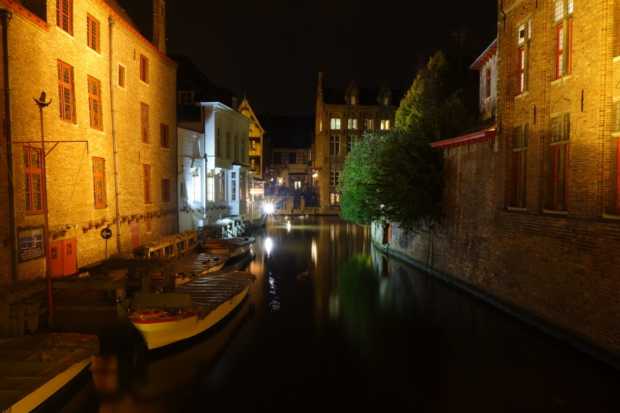 Nochmal Abendstimmung in Brugge