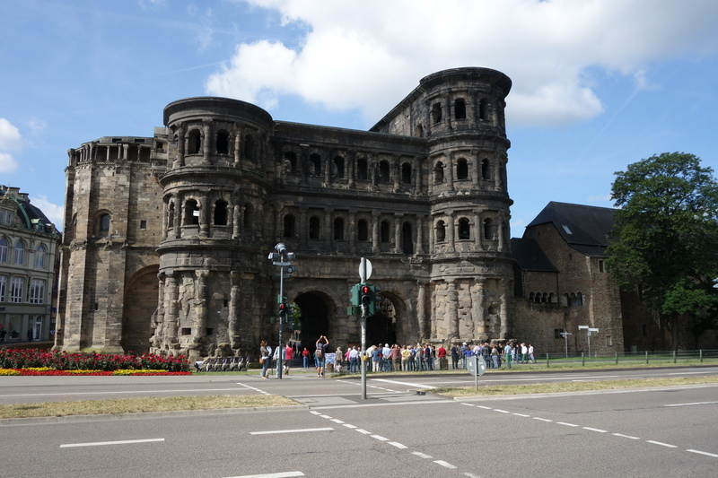 Das schwarze Tor in Trier