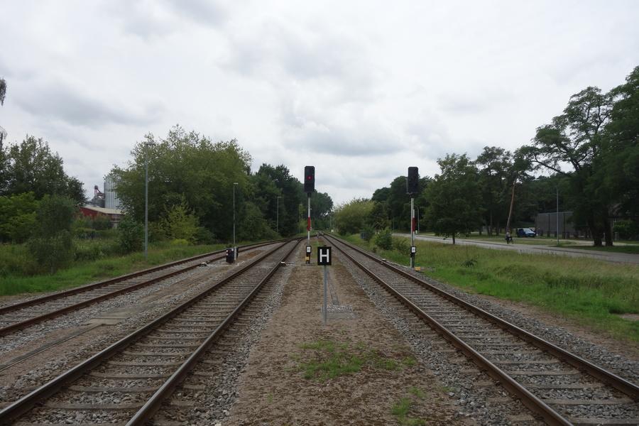 Kleine und große Signale in Wolgast Bf